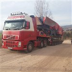 Transport jaw crusher